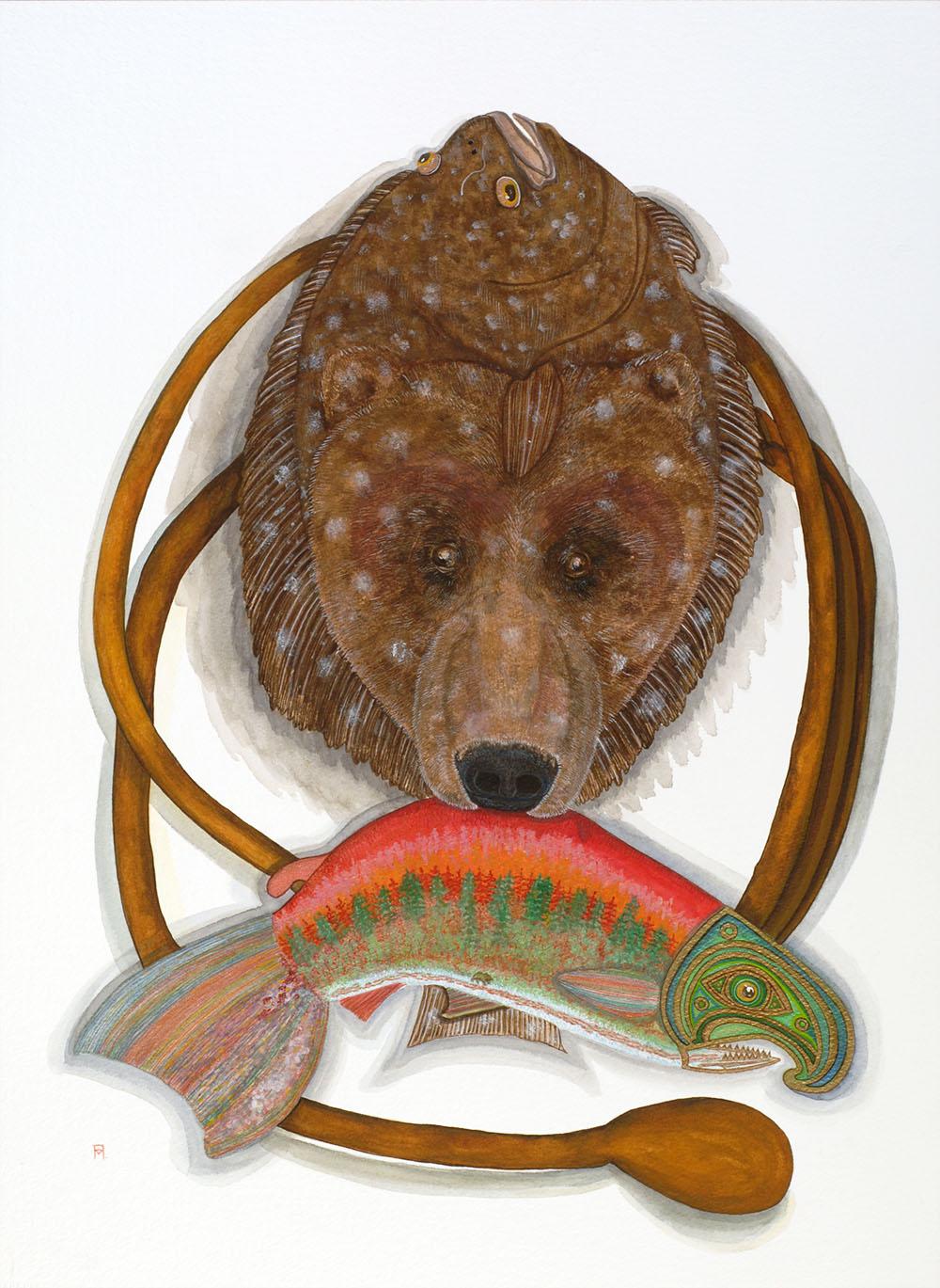 Halibut Bear
